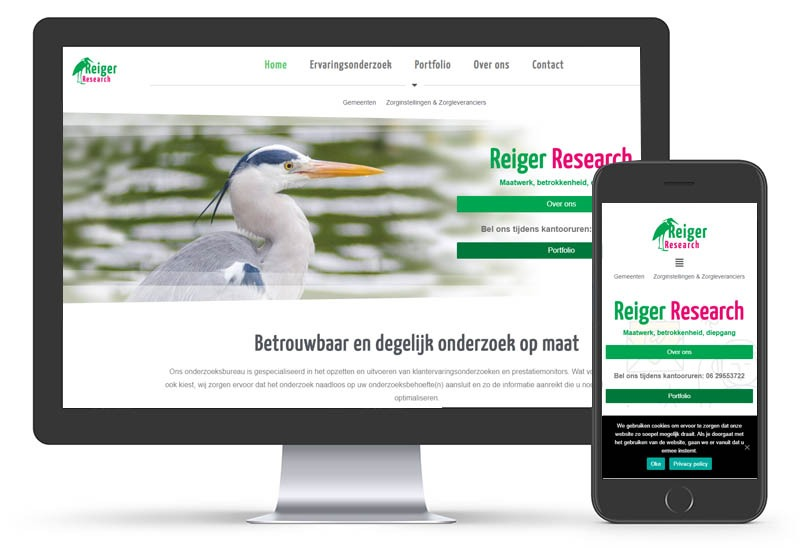 Reiger Research is online!
